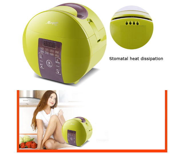 Intelligent appointment mini rice cooker 1 4 people small 1.8L BB porridge cake soup Nutrition stew appointment