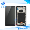 Para lg g4 lcd h810 h815 vs999 h818 tela com toque digitador com substituição de montagem bastidor part1 pedaço livre grátis