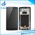Para pantalla lg g4 lcd h810 h815 vs999 h818 con touch digitalizador asamblea con marco reemplazo parte $ number piece gratis