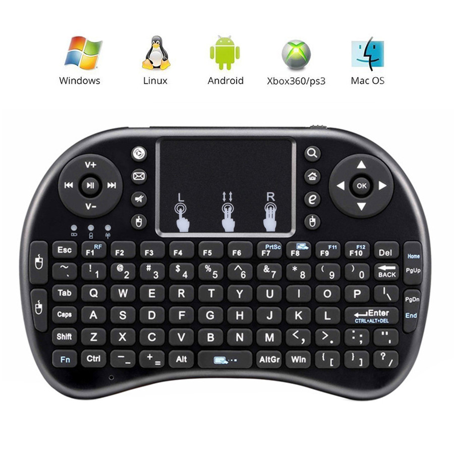 buy mini i8 wireless keyboard 2 4ghz english air mouse keyboard remote control. Black Bedroom Furniture Sets. Home Design Ideas