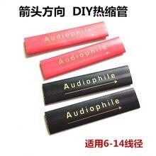Głośnik Audio Hifi RCA/kabel XLR poliolefinowa rurka termokurczliwa z izolowanym drutem 14mm