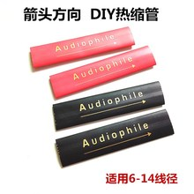 Hifi Audio Lautsprecher RCA/XLR Kabel Polyolefin Verschiedene Schrumpf Rohr Draht Isolierten Schlauch Schläuche 14mm