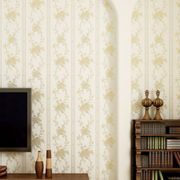 3D Non Woven Wallpaper Damask European Vintage Wallpaper Wall Covering Paper For Backdrop Textured Wall Papers