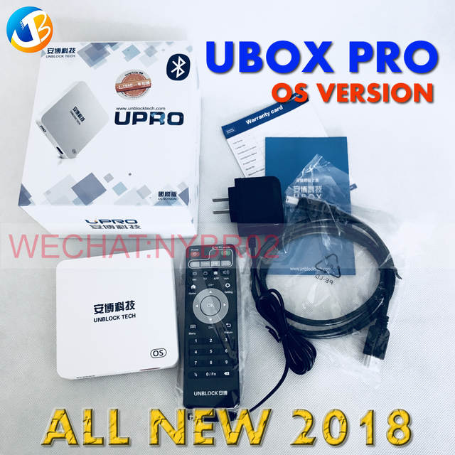 US $168 0  Unblock Tech UBOX PRO OS Version UBOX PRO Android IPTV Bluetooth  HD 1080P 4K UBTV IPTV Smart TV-in Set-top Boxes from Consumer Electronics