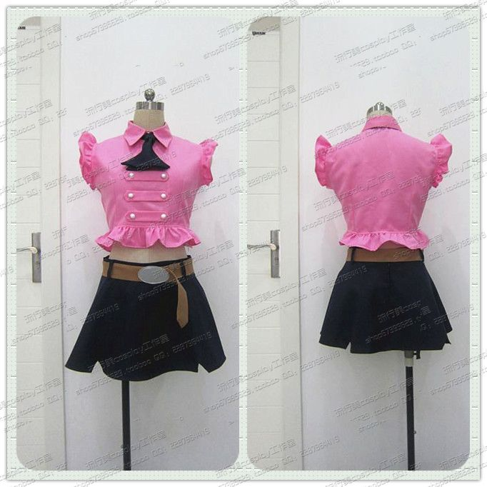 New Anime Seven Deadly Sins Elizabeth Cosplay Costume