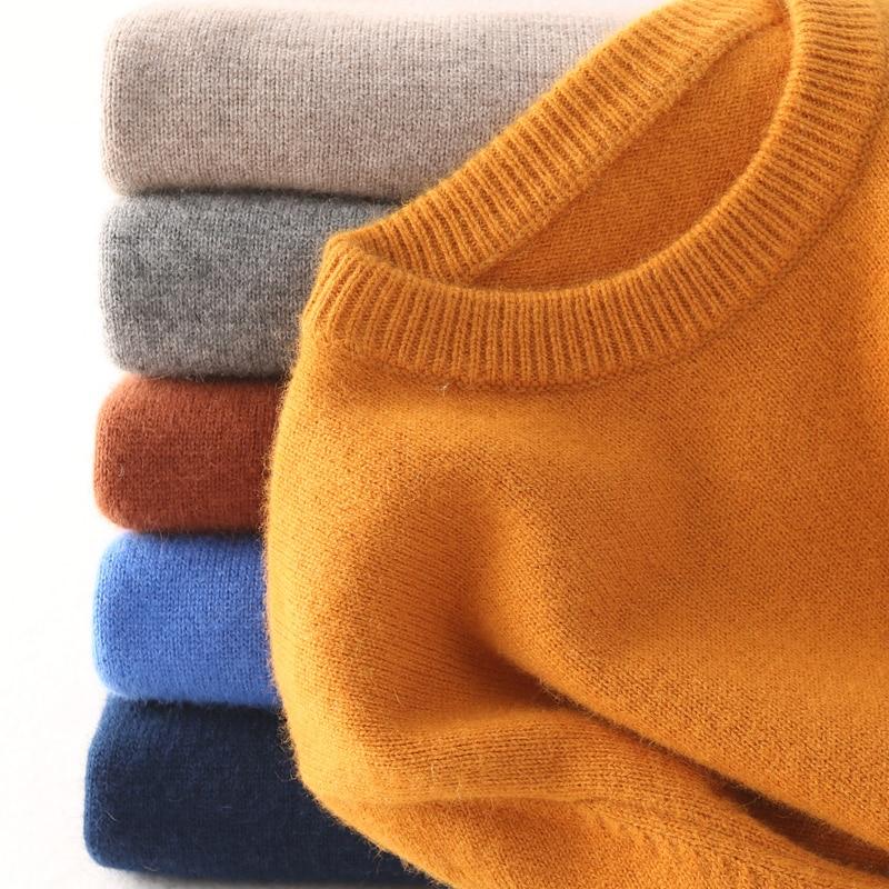 Sweater Men Pullover Hombre-Robe Cashmere Autumn Man Winter Trui Hiver Homme Heren Roupas