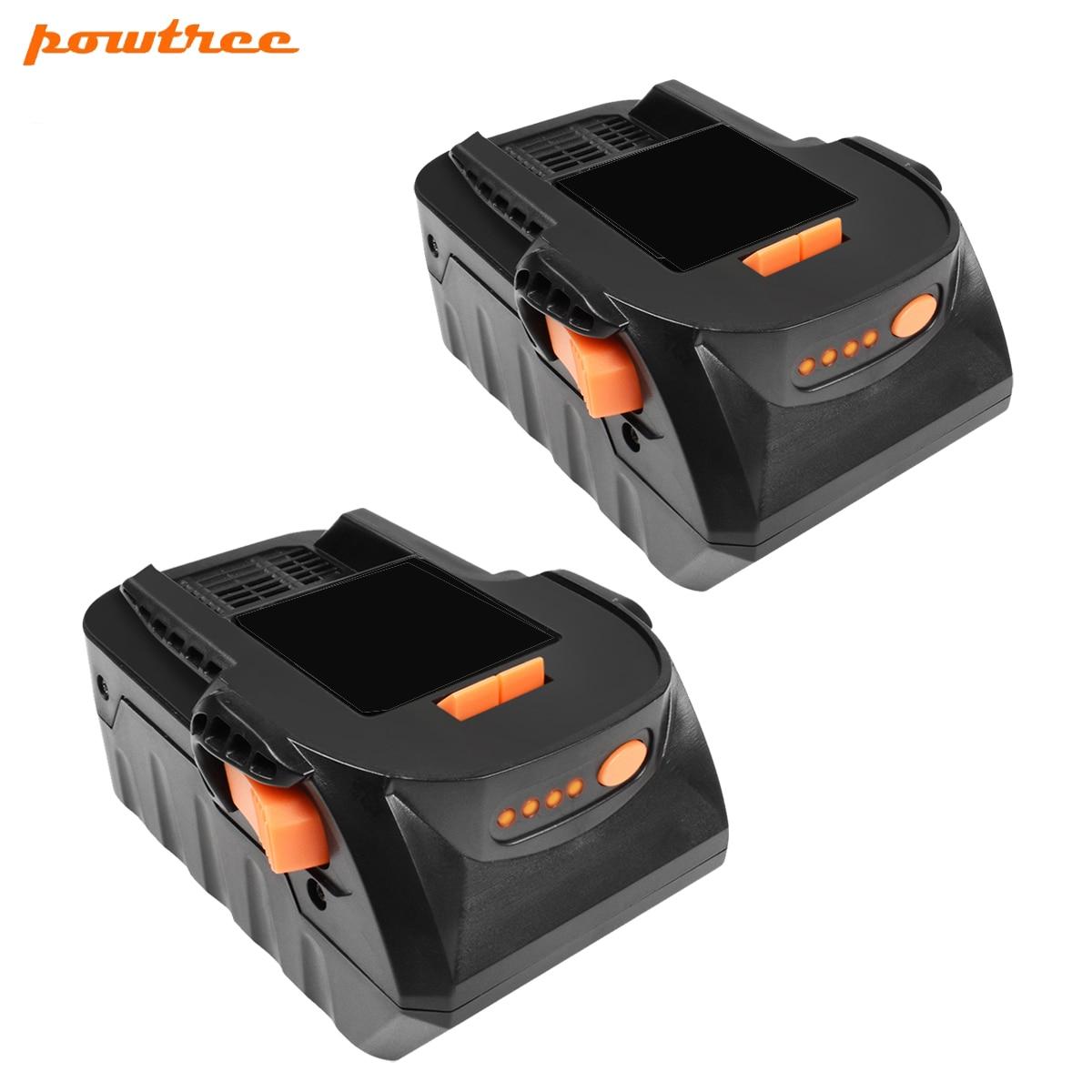 Bonacell 6000mAh 18V Li-ion Rechargeable Power Tool Battery For RIDGID R840083 R840085 R840086 R840087 Series AEG Series L10