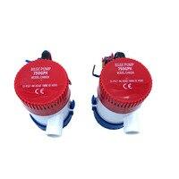 Bilge Submersible Water Pump 12V 24V 750GPH Micro Marine Boat Seaplane Motor Homes Houseboat Aquario Filter