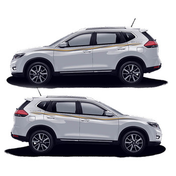 TAIYAO car styling sport car sticker For Nissan X-Trail 2014-2018 Mark Levinson car accessories and decals auto sticker