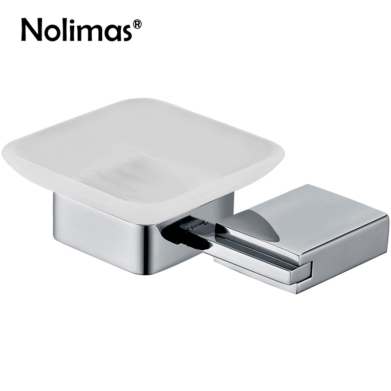 Mirror Polished SUS304 Stainless Steel Wall Mounted Bathroom Soap Dish Holder With Glass Modern Square Bathroom Soap Dish Set european black bronze soap network soap dish basket ceramic plate holder wall mounted bathroom accessories hardwares
