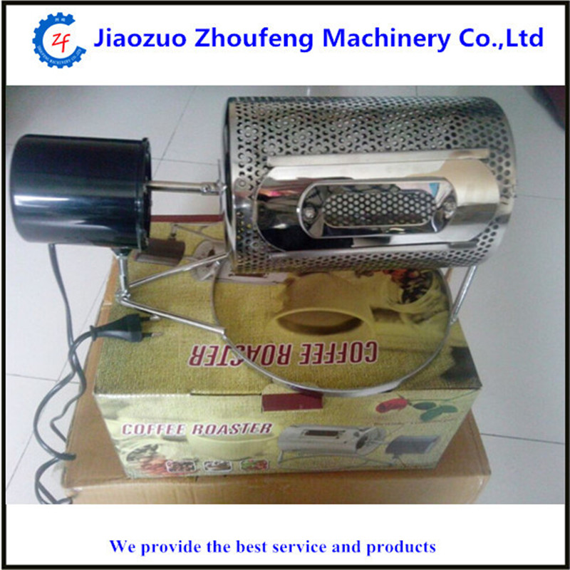 Roasted coffee bean nuts machine 220v or 110v electric stainless steel coffee peanut roasting machine free shipping 10pcs stk4162ii