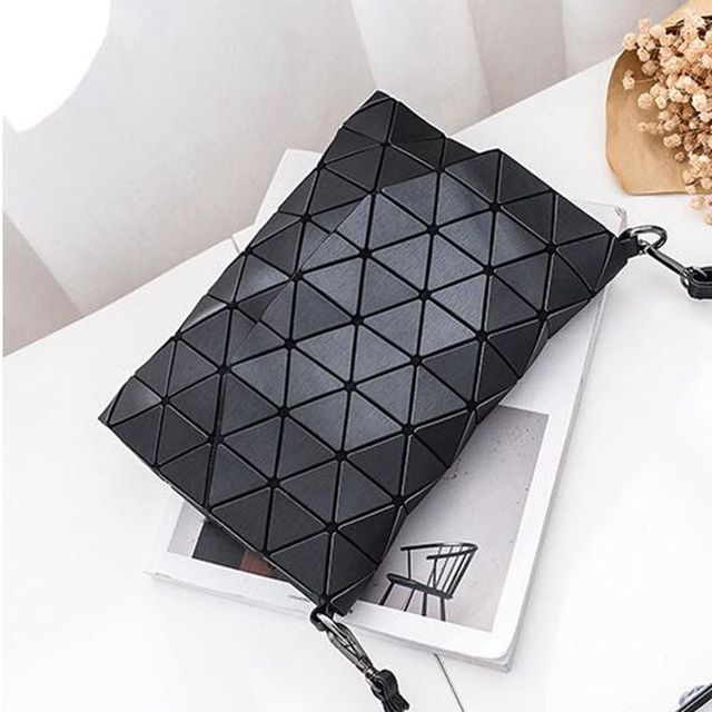 Matte Designer Women Evening Bag Shoulder Bags Girls Flap Handbag Fashion Geometric Casual Clutch Messenger Bag PP-1148 3