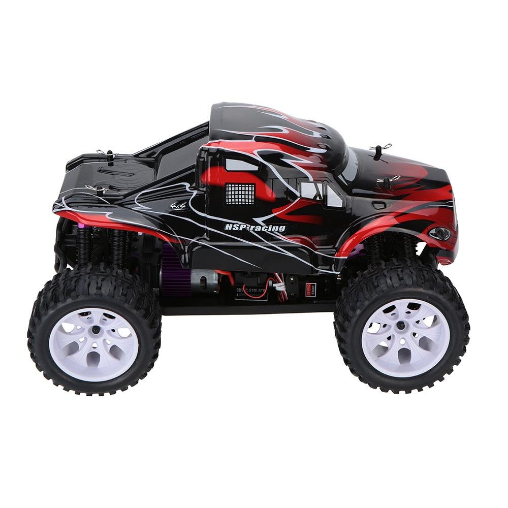 100% Оригинальные HSP 94111 1/10 4WD электронный питание щеткой Двигатель РТР RC грузовик