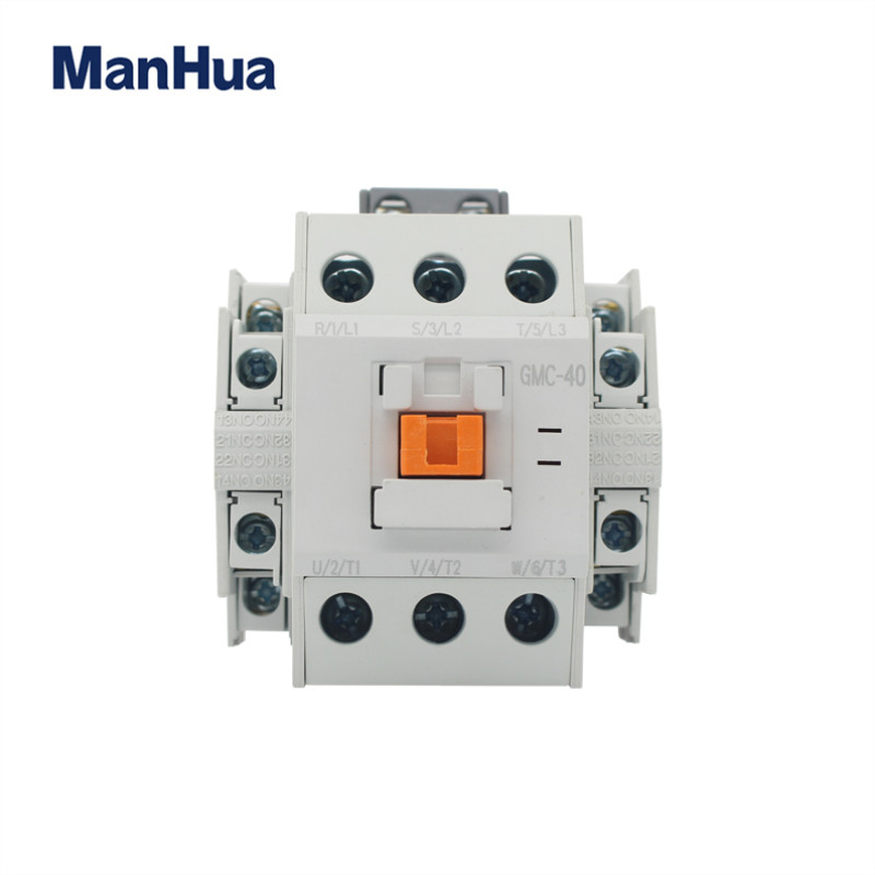 ManHua 3P GMC-40 24VAC 40A Electrical Magnetic Contactor Three Phase For Protect Home Improvement And Electrical Equipment packaging and labeling