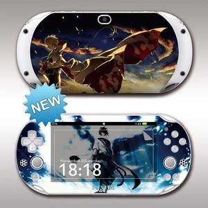 Image 5 - Передняя и задняя защитные стикеры для Sony PS vita 2000 Monster Hunter PSV2000, Виниловая наклейка для защиты кожи