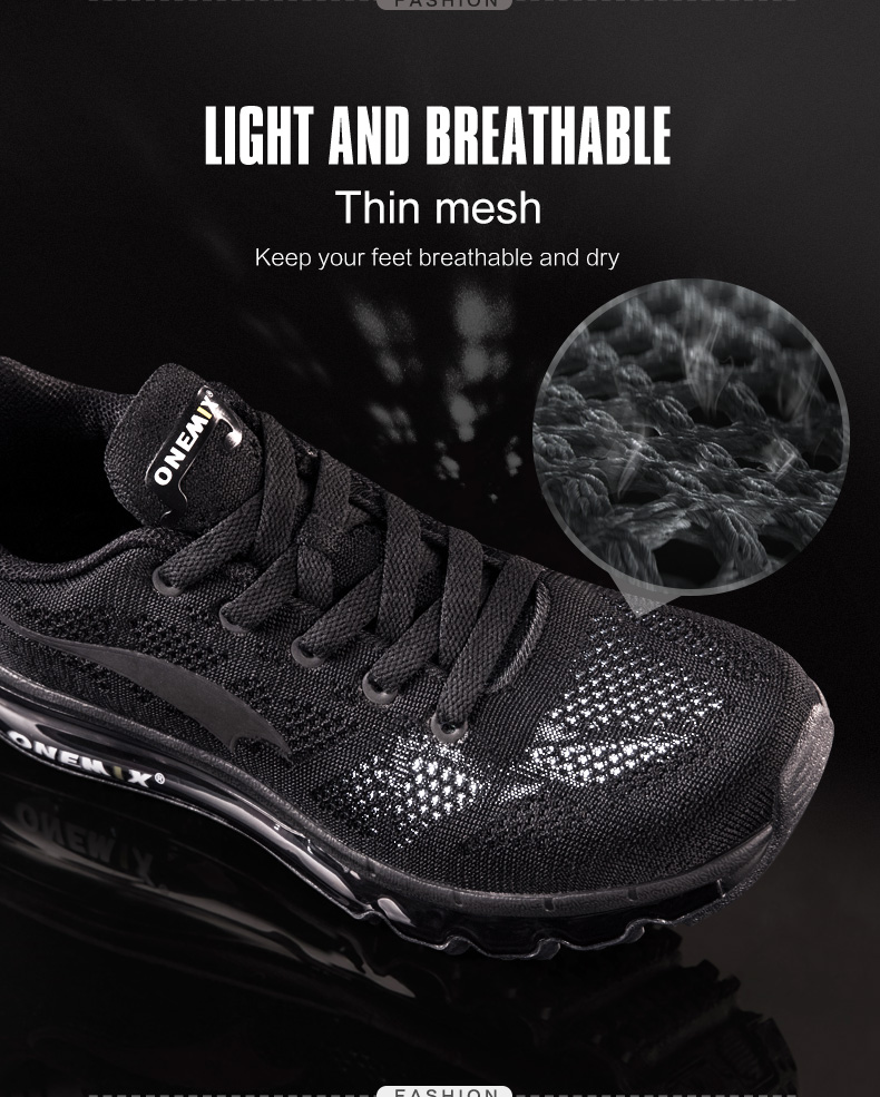 ONEMIX Men Running Shoes Fashion Casual Outdoor Jogging Air Cushioning Gym Fitness Sneakers Max 12 4