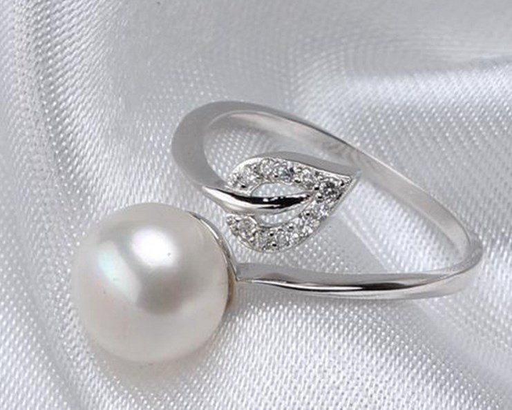 4 Color Real Freshwater Pearl Ring FREE SIZE ADJUSTABLE
