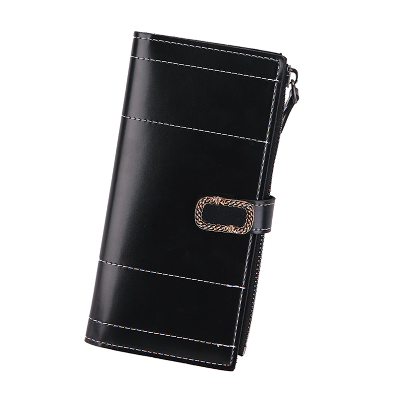 Women Wallet Female Coin Purse Leather Long Card Holder Wallets High Quality Money Pocket Purses Phone Fashion Girl Brand Wallet