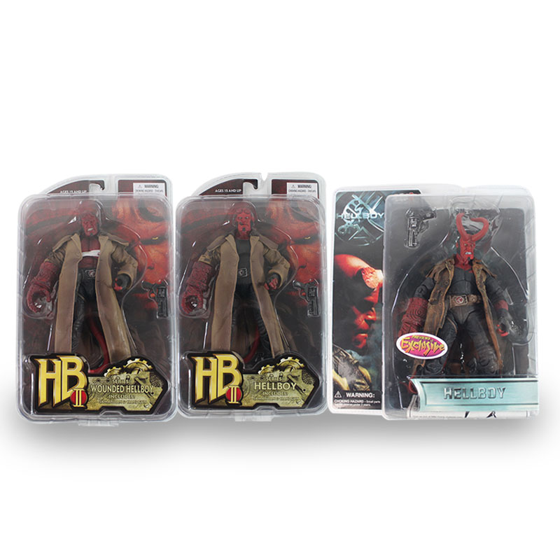 CF Hellboy 3 Styles PVC Action Figure Collectible Model Toy 7