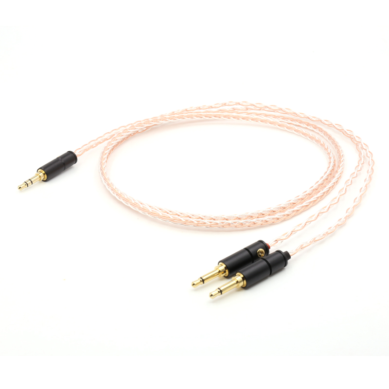 Free shipping 5N OFC copper upgrade audio earphone wire headphone cable for headset HD700 free shipping 1 2 meter pieces 5n ofc copper cable for ultimate ears ue tf10 sf3 sf5 5eb 5pro triplefi 15vm tf15 headphone cable