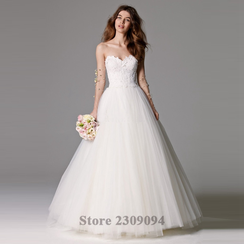 Popular Modest Wedding Gown-Buy Cheap Modest Wedding Gown lots ...