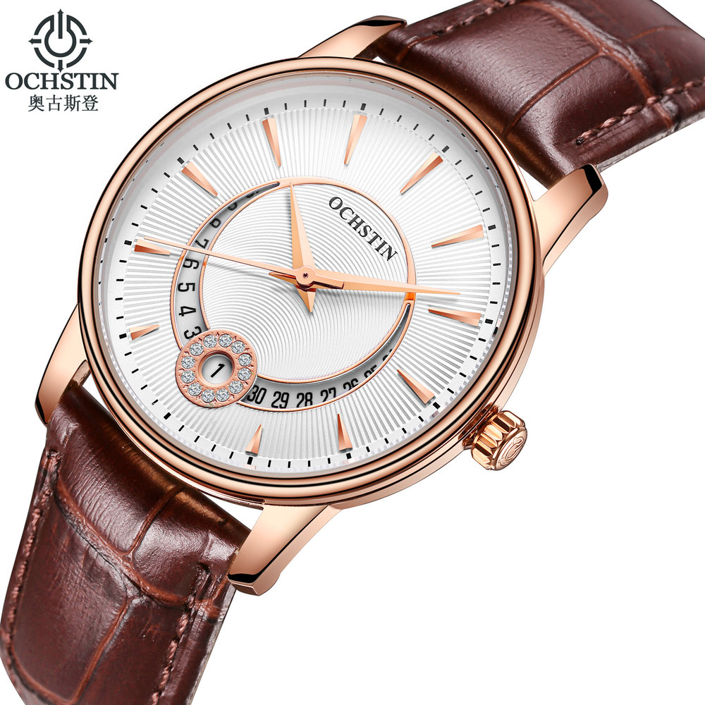 OCHSTIN Fashion Women Watches Ladies Casual Leather Strap Quartz Wrist Watch Female Clock montre femme relojes mujer 2016 dgjud new fashion casual watches women quartz watch leather watch strap ladies hodinky relogio feminino relojes mujer 2016 clock