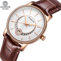 OCHSTIN Fashion Women Watches Ladies Casual Leather Strap Quartz Wrist Watch Female Clock montre femme relojes mujer 2016