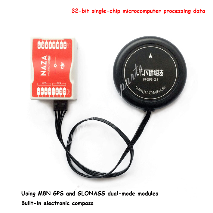 G3 GPS with M8N GPS and GLONASS Dual-mode Modules Compatible with DJI Flight Control NAZA/LITE/V1/V2 Phantom FPV self dual z4 modules