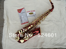 Special yanagisawa drop E alto saxophone students the big red gold lacquer press the button