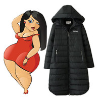 2018 Winter Jacket Women Winter Coat Women Long Parka Cotton Padded Down Cotton Coats Women Wadded Plus Size XXXL 4XL 5XL 6XL