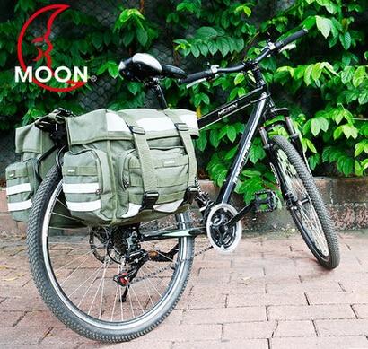 Moon Mountain Bike rear Bag Packaging Bag Shelf Kit By Riding Camel Bag Large Volume Waterproof