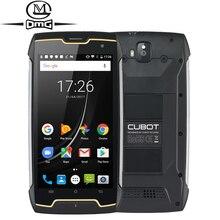 "Cubot Kingkong IP68 impermeable a prueba de golpes a prueba de teléfono móvil 5,0 ""MT6580 Quad Core Android 7,0 teléfono inteligente 2GB RAM 16GB ROM teléfono móvil"