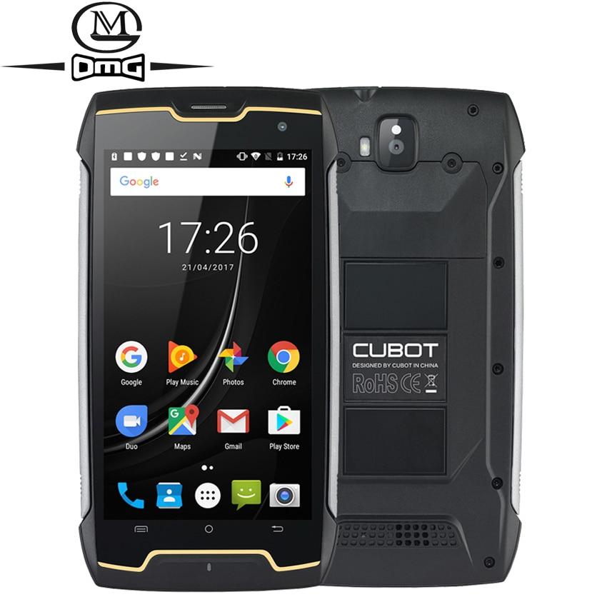 Cubot kingkong ip68 impermeável à prova de choque telefone móvel 5.0 mt6580 quad core android 7.0 smartphone 2 gb ram 16 gb rom telefone celular