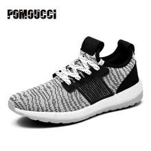 Men Sneaker Running Shoes Lightweight Sneakers Breathable Mesh Sports Shoes Jogging Footwear Walking Athletics Suede Shoes