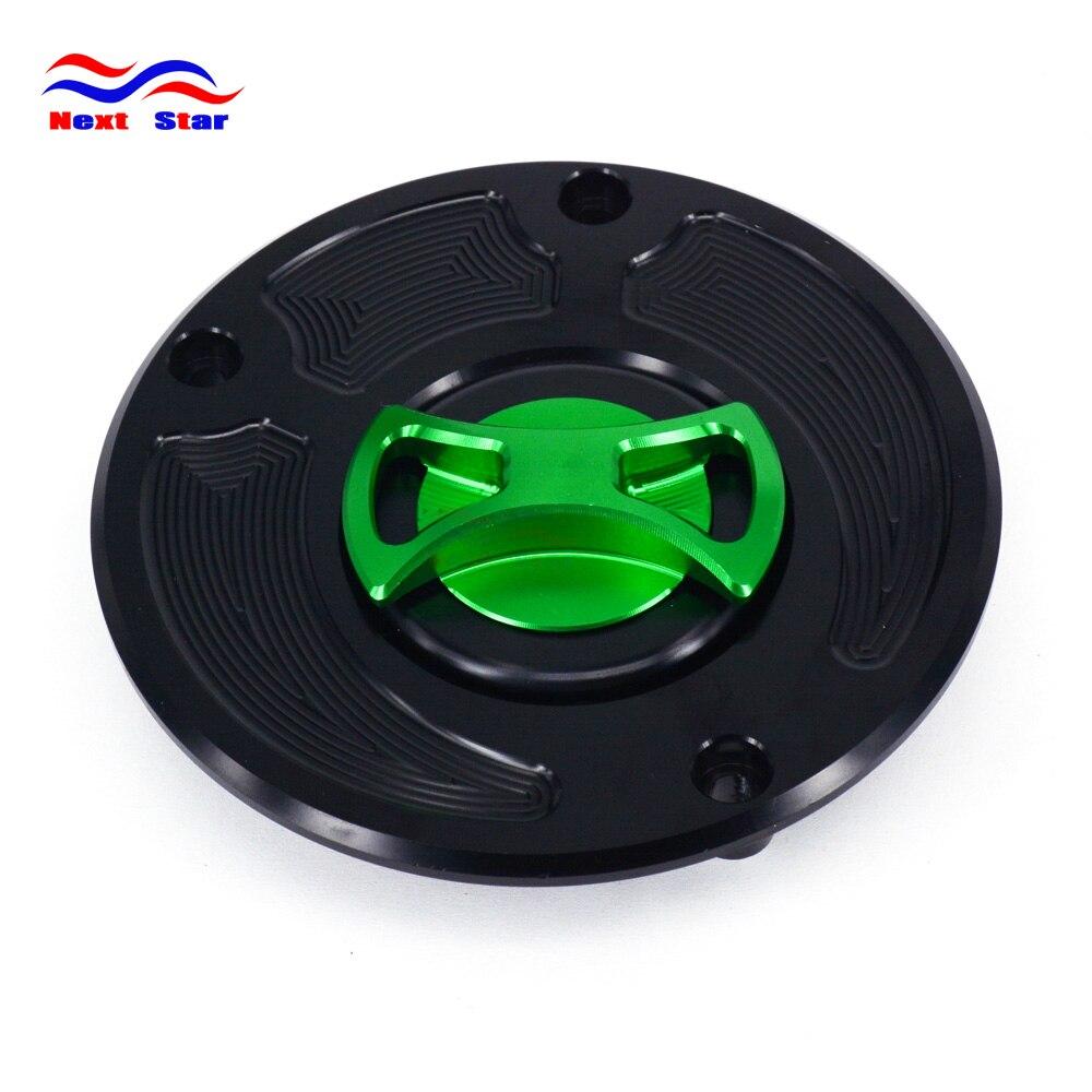 Billet Gas Fuel Tank Cap Filler Cap for Kawasaki ZX10R ZX6R ZX14 Z1000 Ninja1000