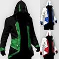 Nueva Manera Caliente Disfraces de Halloween para Las Mujeres Trajes de chaqueta de Los Hombres de Anime Cosplay Ropa Assassins Creed Kenway Muchachos Regalo Barato