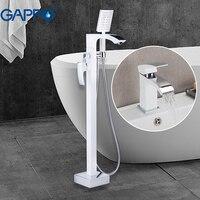 GAPPO Смесители бассейна стоящие ванны смесители с раковины латунные краны для ванной кран смесители душ система