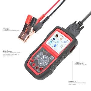 Image 2 - Autel הקישור האוטומטי AL539B OBD2 קוד קורא OBDII יכול סורק אוטומטי אבחון כלי מעגל וסוללה מבחן רכב חשמל בודק