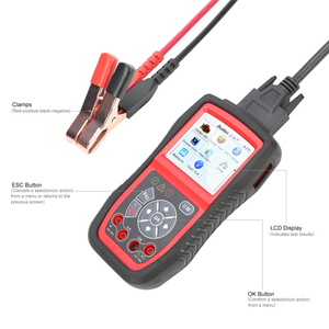 Image 2 - Autel AutoLink AL539B OBD2 Code Reader OBDII CAN Scanner Auto Diagnostic Tool Circuit and Battery Test Car Electrical Tester