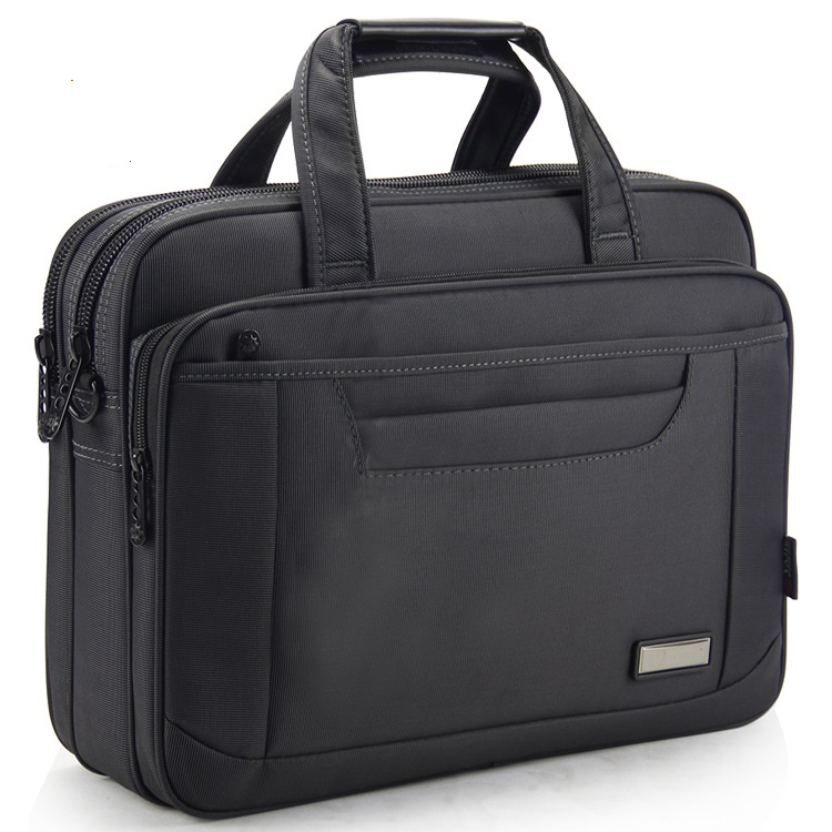 3290# New Fashion Business Folder Shoulder Bag Large Capacity Handbag Oxford Cloth Computer Bag Business Men's Briefcase