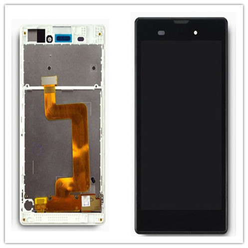 IIEYER  Display For SONY Xperia T3 M50W D5103 Touch Screen Digitizer Sony LCD with Frame