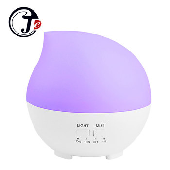 300ML Ultrasonic Humidifier for Home Aroma Essential Oil Fogger with LED Lamp Aromatherapy Diffuser Mist Maker Air Humidifiers 300ml cute pet ultrasonic air humidifier aroma essential oil diffuser for home car usb fogger mist maker with led night lamp
