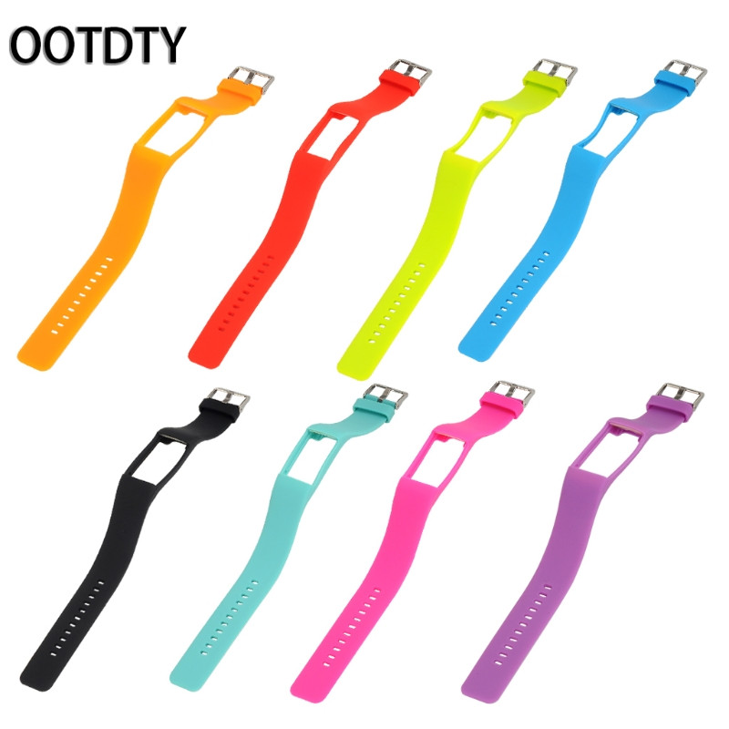 OOTDTY Smart Watch Strap Silicone Watch Band Wristband Bracelet Replacement For Polar A360 polar a360 s