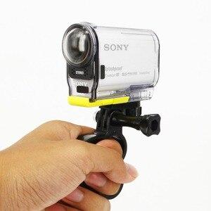 Image 4 - Self Ring Monopod Knuckles palce uchwyt z uchwytem do sony action cam AS100V AS200V AS30V X1000V AEE Surf akcesoria