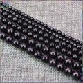 Qualidade Natural Preto Spinel brilhante Soltas Em Torno Beads 4mm, 6mm, 8mm