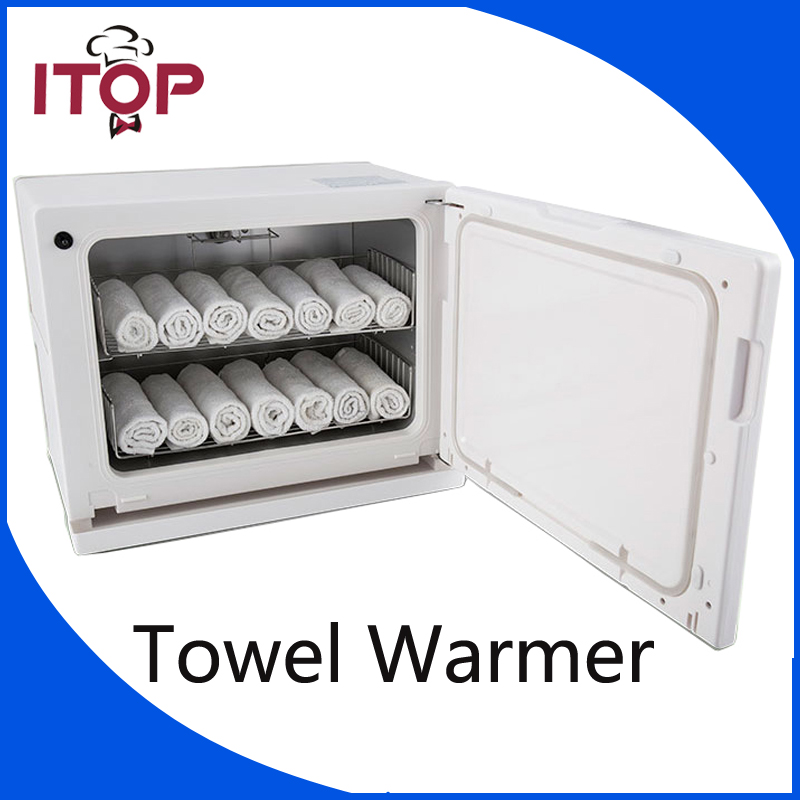 ITOP Electric Towel Warmer 8L/18L Towel Disinfection Cabinet  UV light Sterilizer Hot Facial Salon Spa Beauty Equipment nail salon sterilizer hot air disinfection cabinet for hairdressing tattoo manicure tool in beauty spa