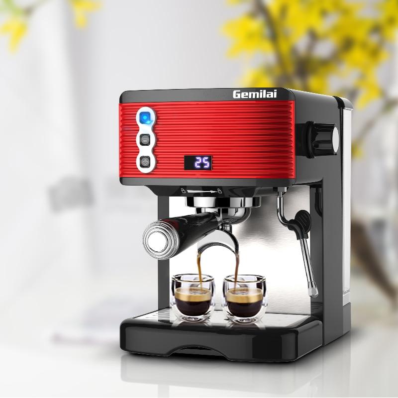 Household Semi-automatic Coffee Maker Espresson Coffee Machine For Home /Office /Coffee Bar 1.7L худи print bar log lady coffee