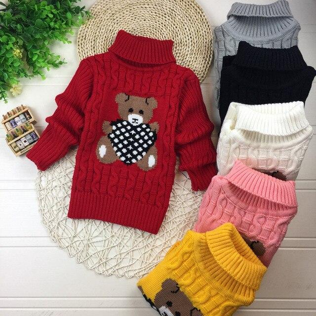 26c891fdf45b Fashion Infant Spring Autumn Winter Baby Boys Girl Cute Bear Sweater ...