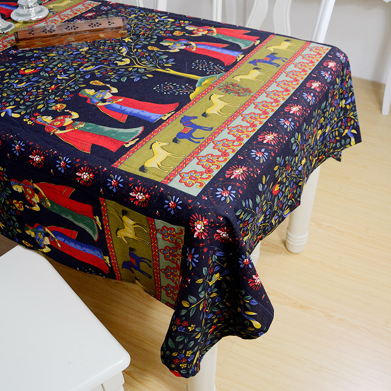 Bodhi Garden Table Cloth Printing Chinese Style National Wind  Characteristics Original Cotton Tablecloth Art In Tablecloths From Home U0026  Garden On ...