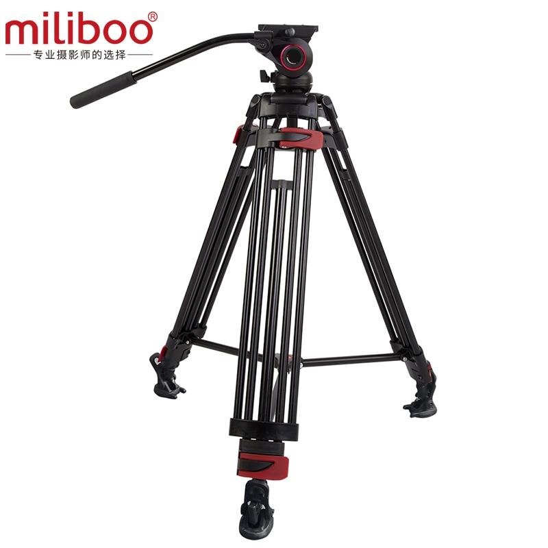 miliboo MTT604A Professional Flexible Tripod for Digital Camera/Camcorder/Video,Load bearing 10 kg Max Height 160cm